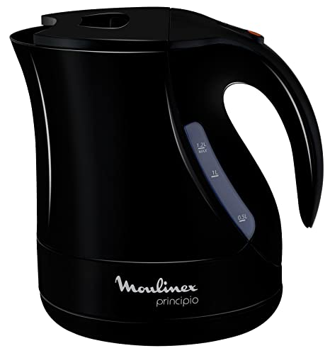hervidor agua moulinex by107815 negro 1 2 l 2200 w