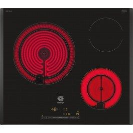 balay 3eb730lq integrado ceramic hob negro hobs