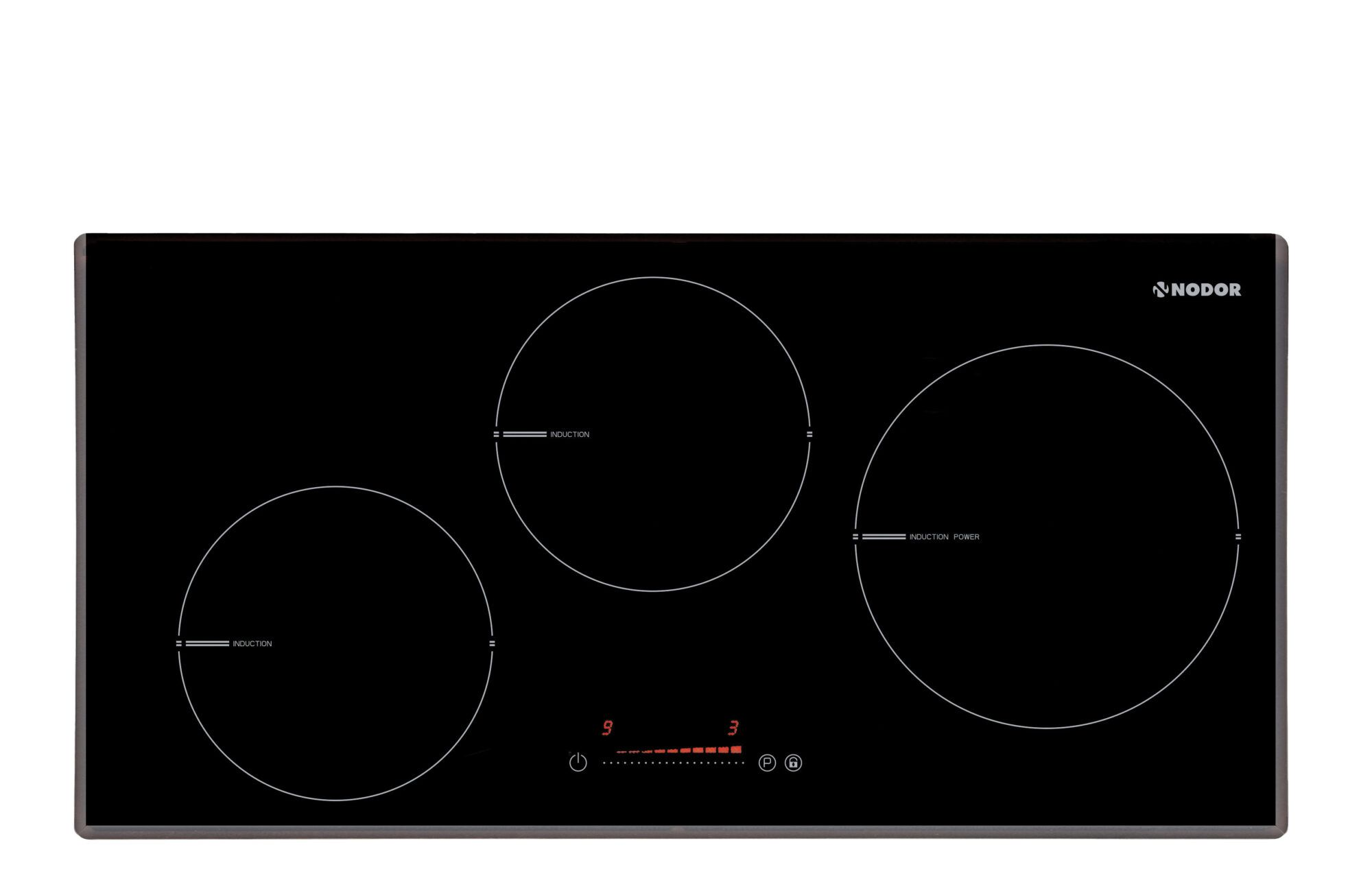 nodor i 3070 sl bk integrado induction hob negro