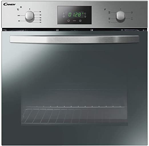 candy fcs 605 x horno electrico 65l a acero