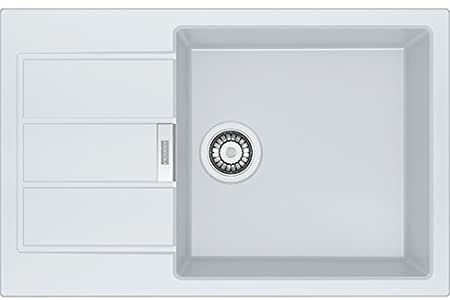 franke sid 611 78 45 top mount kitchen sink rectangular tectonita