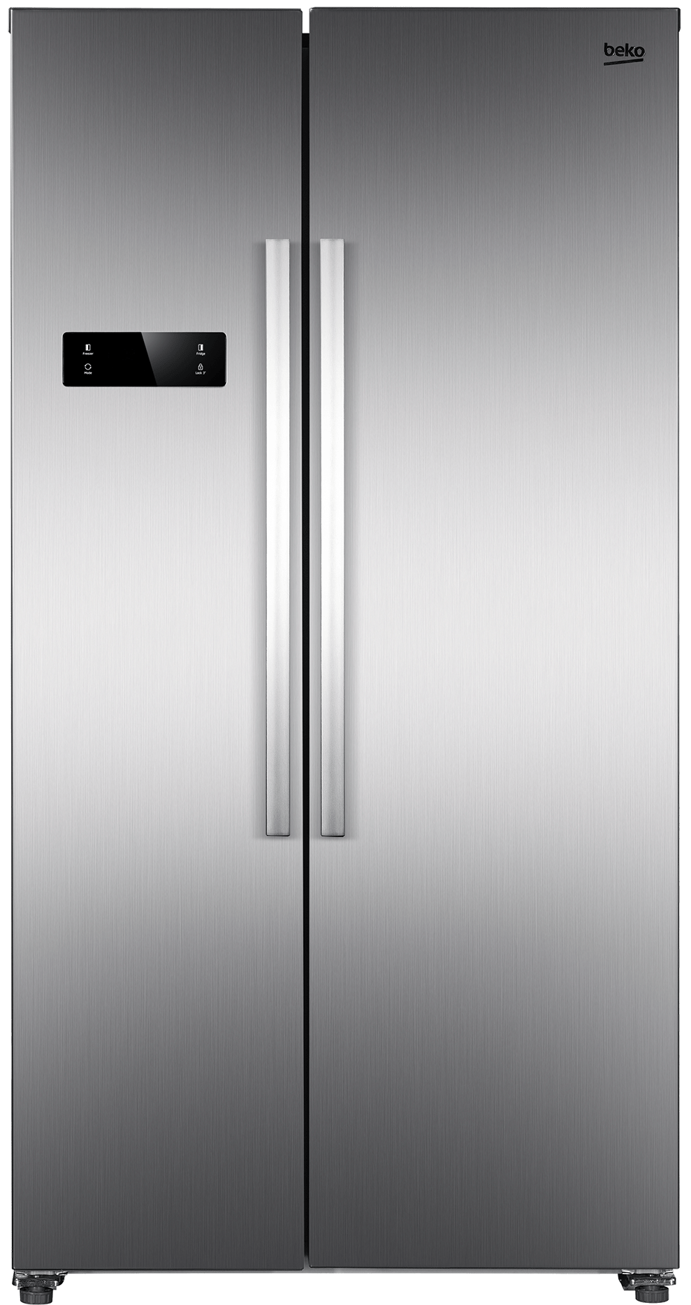 frigorifico side by side beko gno4321xp inox 177 cm a