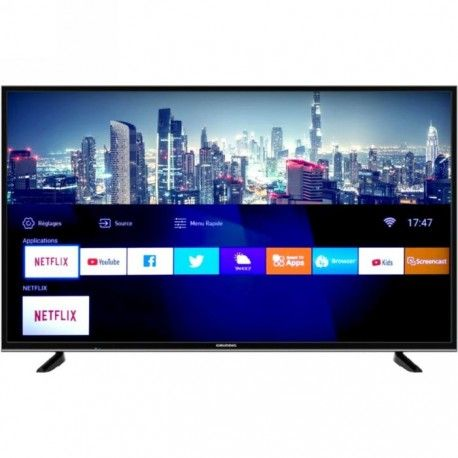 grundig 55gdu7500b tv 1397 cm 55 4k ultra hd smart tv wifi negro