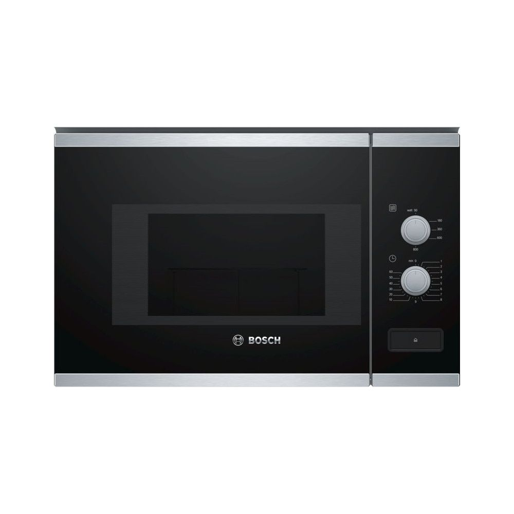 microondas integrable bosch bfl520ms0 negro 20 l 800 w