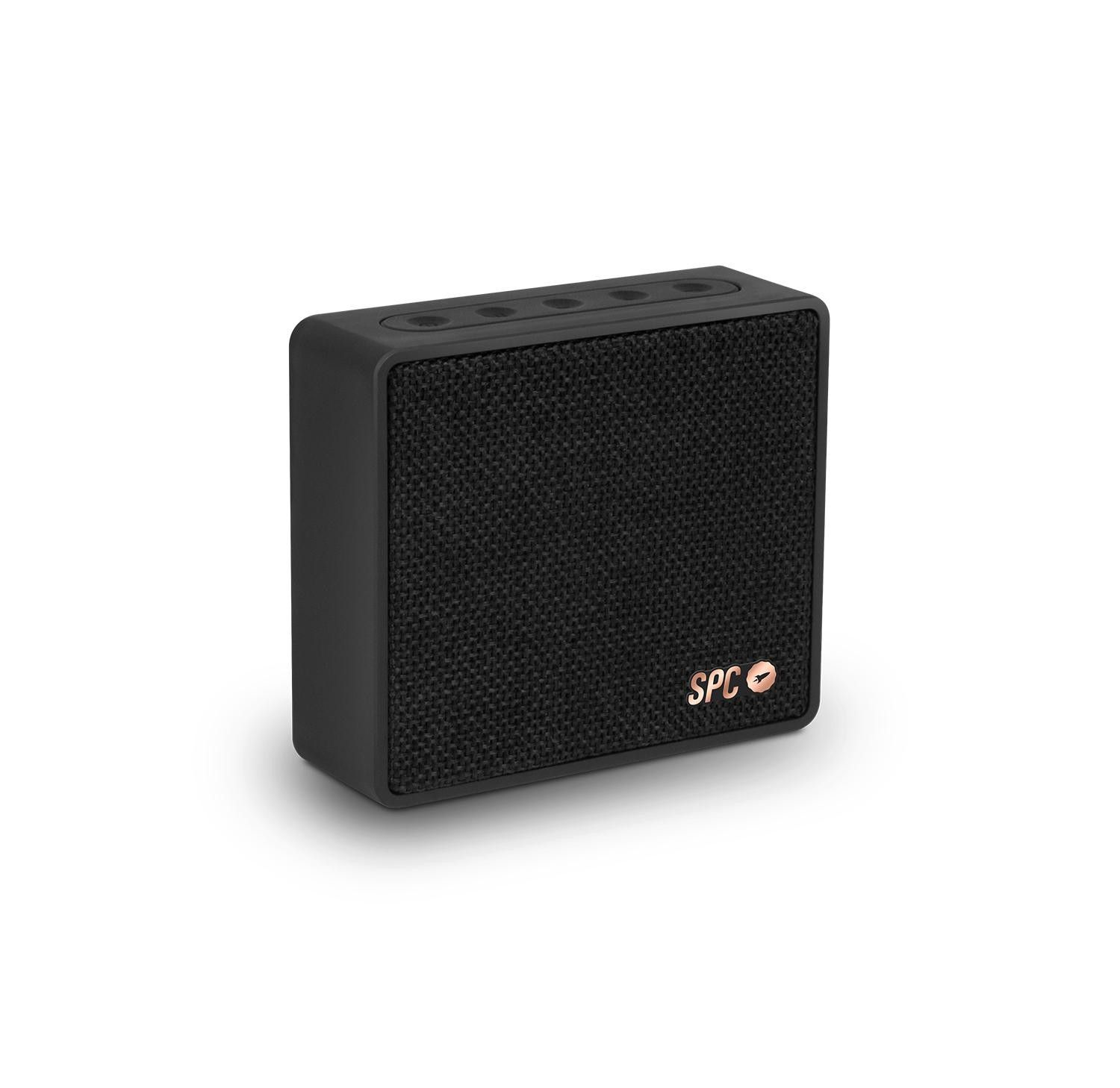 spc one 4w rectangulo negro